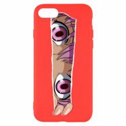 Чохол для iPhone 8 Anime girl peeping
