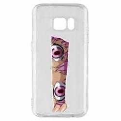 Чохол для Samsung S7 Anime girl peeping