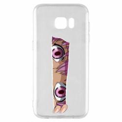 Чохол для Samsung S7 EDGE Anime girl peeping