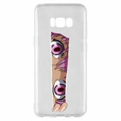 Чохол для Samsung S8+ Anime girl peeping