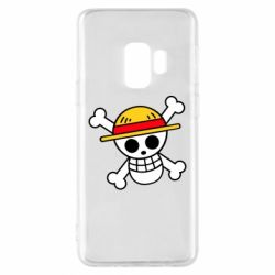 Чохол для Samsung S9 Anime logo One Piece skull pirate