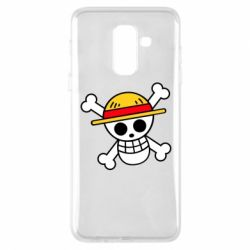 Чохол для Samsung A6+ 2018 Anime logo One Piece skull pirate