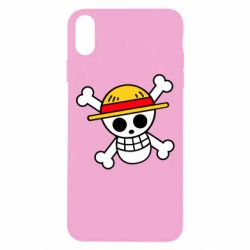 Чохол для iPhone Xs Max Anime logo One Piece skull pirate