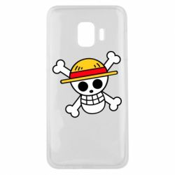 Чохол для Samsung J2 Core Anime logo One Piece skull pirate