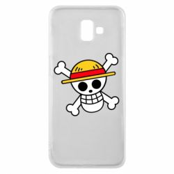 Чохол для Samsung J6 Plus 2018 Anime logo One Piece skull pirate