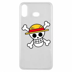 Чохол для Samsung A6s Anime logo One Piece skull pirate