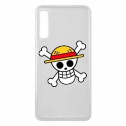 Чохол для Samsung A7 2018 Anime logo One Piece skull pirate