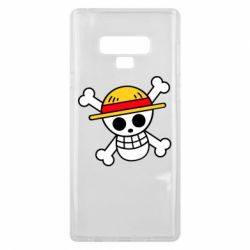 Чохол для Samsung Note 9 Anime logo One Piece skull pirate