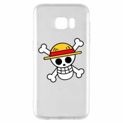Чохол для Samsung S7 EDGE Anime logo One Piece skull pirate