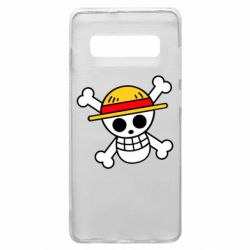Чохол для Samsung S10+ Anime logo One Piece skull pirate