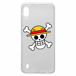 Чохол для Samsung A10 Anime logo One Piece skull pirate