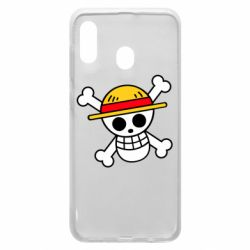 Чохол для Samsung A30 Anime logo One Piece skull pirate