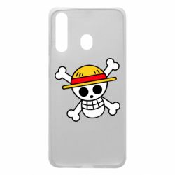 Чохол для Samsung A60 Anime logo One Piece skull pirate