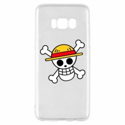 Чохол для Samsung S8 Anime logo One Piece skull pirate