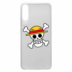 Чохол для Samsung A70 Anime logo One Piece skull pirate
