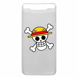 Чохол для Samsung A80 Anime logo One Piece skull pirate