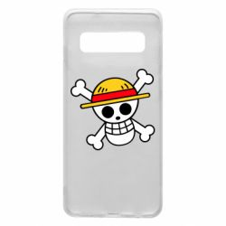 Чохол для Samsung S10 Anime logo One Piece skull pirate