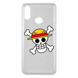 Чохол для Samsung A10s Anime logo One Piece skull pirate