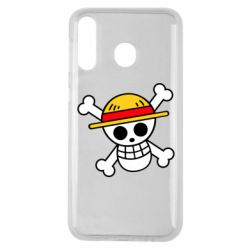 Чохол для Samsung M30 Anime logo One Piece skull pirate