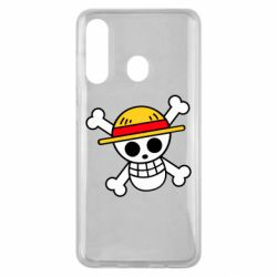 Чохол для Samsung M40 Anime logo One Piece skull pirate