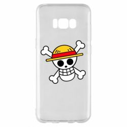 Чохол для Samsung S8+ Anime logo One Piece skull pirate