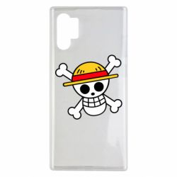 Чохол для Samsung Note 10 Plus Anime logo One Piece skull pirate