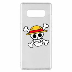 Чохол для Samsung Note 8 Anime logo One Piece skull pirate