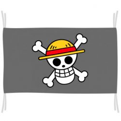 Прапор Anime logo One Piece skull pirate