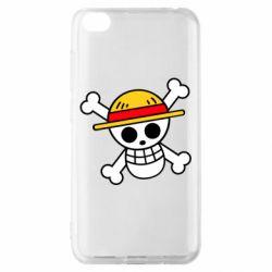 Чохол для Xiaomi Redmi Go Anime logo One Piece skull pirate