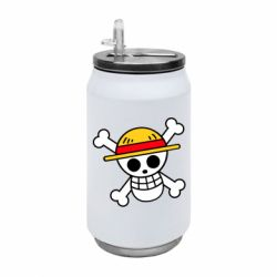 Термобанка 350ml Anime logo One Piece skull pirate