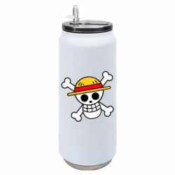 Термобанка 500ml Anime logo One Piece skull pirate