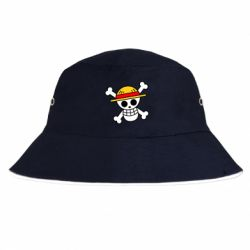 Панама Anime logo One Piece skull pirate