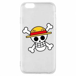 Чохол для iPhone 6/6S Anime logo One Piece skull pirate