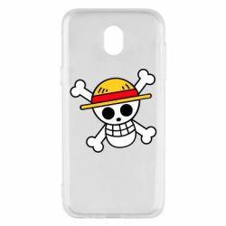 Чохол для Samsung J5 2017 Anime logo One Piece skull pirate