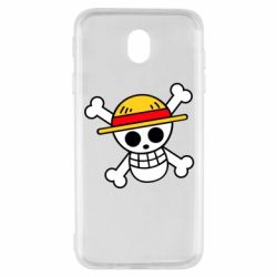 Чохол для Samsung J7 2017 Anime logo One Piece skull pirate