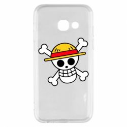 Чохол для Samsung A3 2017 Anime logo One Piece skull pirate
