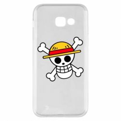 Чохол для Samsung A5 2017 Anime logo One Piece skull pirate