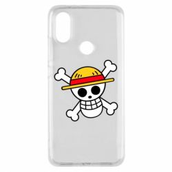 Чохол для Xiaomi Mi A2 Anime logo One Piece skull pirate