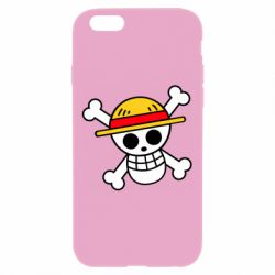 Чохол для iPhone 6 Plus/6S Plus Anime logo One Piece skull pirate