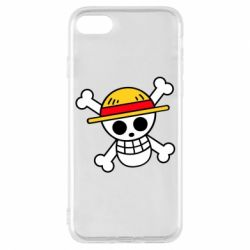 Чохол для iPhone 8 Anime logo One Piece skull pirate