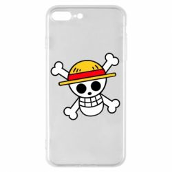 Чохол для iPhone 8 Plus Anime logo One Piece skull pirate