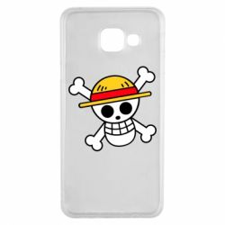 Чохол для Samsung A3 2016 Anime logo One Piece skull pirate