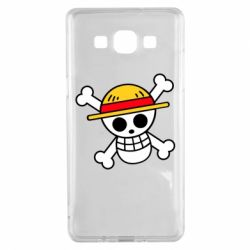 Чохол для Samsung A5 2015 Anime logo One Piece skull pirate