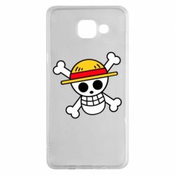 Чохол для Samsung A5 2016 Anime logo One Piece skull pirate