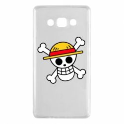Чохол для Samsung A7 2015 Anime logo One Piece skull pirate