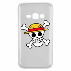Чохол для Samsung J1 2016 Anime logo One Piece skull pirate