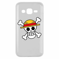 Чохол для Samsung J2 2015 Anime logo One Piece skull pirate