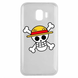 Чохол для Samsung J2 2018 Anime logo One Piece skull pirate