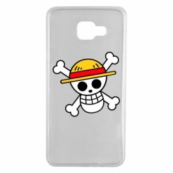 Чохол для Samsung A7 2016 Anime logo One Piece skull pirate