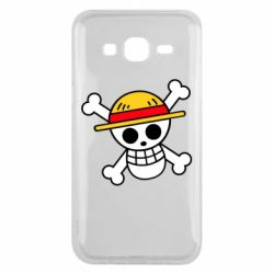 Чохол для Samsung J5 2015 Anime logo One Piece skull pirate